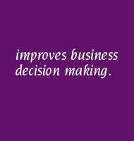 improves business decision making